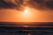 Sunset on the Atlantic coast of Portugal, sunset, Portugal, Atlantic