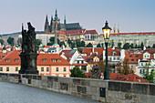 Charles Bridge, Prague Castle, Prague, Czech Republic