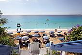 Makris Gialos Beach in Lassi, Kefalonia Island, Ionian Islands, Greece