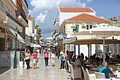 Lithostroto Street in Argostoli, Kefalonia Island, Ionian Islands, Greece