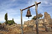 Kirchenruine Agii Phanentes, Sami, Insel Kefalonia, Ionische Inseln, Griechenland