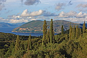 Landscape at Fiskardo, Kefalonia Island, Ionian Islands, Greece