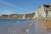 Xi Beach, Paliki Peninsula, Kefalonia Island, Ionian Islands, Greece