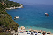 Strand, Xigia, Insel Zakynthos, Ionische Inseln, Griechenland