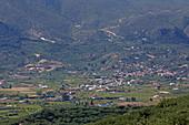 Ebene hinter der Laganasbucht, Insel Zakynthos, Ionische Inseln, Griechenland