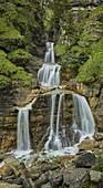 Kuhflucht waterfalls, Farchant, Bavaria, Germany
