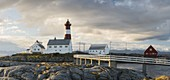 Tranoy Lighthouse, Hamaroy, Ofoten, Nordland, Norway