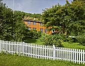 Knut Hamsun's birthplace, Hamaroy, Ofoten, Nordland, Norway