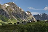 Skjerdingsdalen, Skjerdingsdalsetra, Vestland, Norway