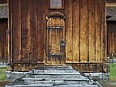 Stave Church in Lom, Innlandet, Norway