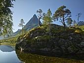 Innerdalstarnet, Innerdalsvatna, Innerdalen, More og Romsdal, Norway
