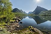 Renndalskamman, Innerdalstarnet, Innerdalsvatna, Innerdalen, More og Romsdal, Norway