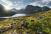 Skafjellenden, Alnesvatnet, Trollheimen, More og Romsdal, Norway