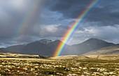 Rainbow, Rondane National Park, Oppland, Norway