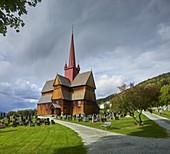 Ringebu Stave Church, Gudbrandsdal, Innlandet, Norway