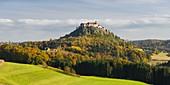 Riegersburg in autumn, Styria, Austria
