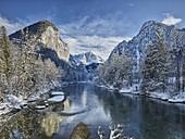 Himbeerstein, Hochtor, Haindlmauer, Enns, Nationalpark Gesäuse, Ennstaler Alpen, Ennstal, Steiermark, Österreich