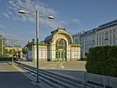 Otto Wagner Pavillion, 4th District Wieden, Vienna, Austria