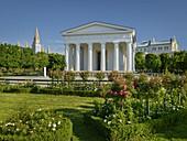 Theseus Temple, Volksgarten, 1st District Innere Stadt, Vienna, Austria