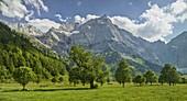 Großer Ahornboden, Karwendel range, Tyrol, Austria