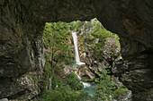 Tschaukofall, Tscheppaschlucht, Carinthia, Austria