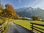 Mountain road over Werfen, Tennengebirge, Salzburg, Austria