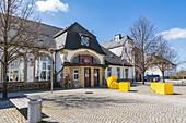 Sonneberg Central Station, Sonneberg, Thuringia, Germany