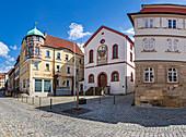 Historic town hall in Kronach, Bavaria, Germany