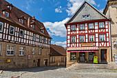 Melchior-Otto-Platz in Kronach, Bayern, Deutschland