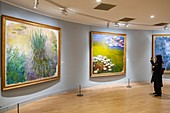 """France, Paris, the Marmottan Monet Museum, exhibition: the Orient des Peintres, from dream to light """", from 03/07 to 07/21/"""