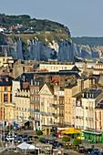 France, Seine Maritime, Pays de Caux, Cote d'Albatre, Dieppe, cliffs of Dieppe