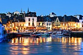 France, Morbihan, Auray, Gulf of Morbihan, harbour of Saint Goustan