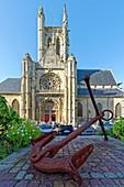 France, Seine Maritime, Pays de Caux, Cote d'Albatre (Alabaster Coast), Fecamp, Saint Etienne Church
