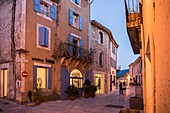 France, Vaucluse, regional natural park of Luberon, Ménerbes, labeled the Most Beautiful Villages of France
