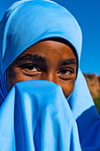 Young Tuareg girl, Oasis of Timia, Air Mountains, Niger, Africa