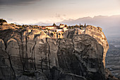 Agios Stefanos Monastery, Meteora, UNESCO World Heritage Site, Thessaly, Greece, Europe
