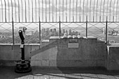 Observation Deck, Empire State Building, New York City, New York, USA