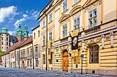 Poland, Lesser Poland, Krakow, Stare Miasto district, listed as World Heritage by UNESCO, old town, Kanonicza street