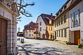 Frauengasse in Schweinfurt, Bavaria, Germany