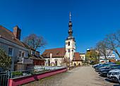 St. Salvador Church in Schweinfurt, Bavaria, Germany