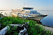 River cruise ship MS Michail Svetlov, Yakutia: ASIA, Russia, SACHA, YAKUTIA, Republic of Sakha (Yakutia), River Lena Yakutia: ASIA, Russia, SACHA, YAKUTIA, Republic of Sakha (Yakutia), River Lena