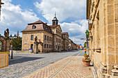 Friedrichstraße in Bayreuth, Bayern, Deutschland