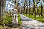 Hofgarten in Bayreuth, Bavaria, Germany