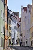 Alte Bergstrasse, Landsberg, Upper Bavaria, Bavaria, Germany