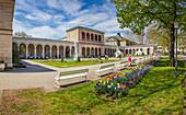 Bavarian State Bath and Spa Garden in Bad Kissingen, Bavaria, Germany