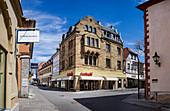 Obere Marktstrasse in Bad Kissingen, Bavaria, Germany