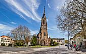 Herz Jesu Church in Bad Kissingen, Bavaria, Germany