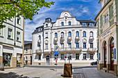 Das Anwesen Von-Hessing-Straße 2 in Bad Kissingen, Bayern, Deutschland