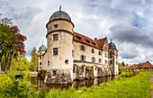 Mitwitz moated castle, Bavaria, Germany