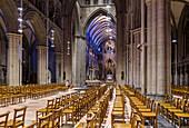 Nidaros Cathedral, inside, Trondheim, Norway